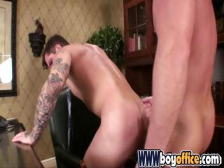 Gay office twink acquires nailed in the a-hole by the bosses large jock