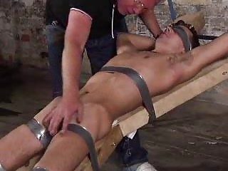 Old Fetish Man Punishing A Bigcock Serf Guy