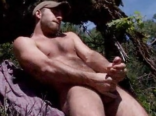 Curly Stud Parker Perry Jerking outdoor