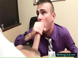 Matthew getting lubed for some serious anal fuck by workingcock