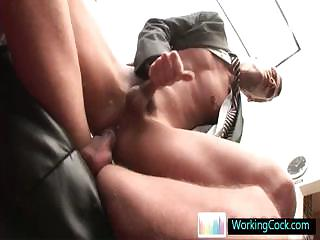 Fucking and sucking when the boss is away by workingcock
