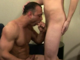 Brad had always been so curious about Jaymz' hawt body and his hard...