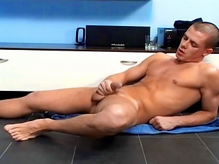 Muscle and cum #02...