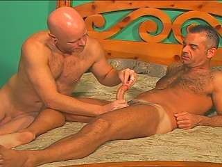 John Marcus breaks out the cockrings and dildos and fucks himself...
