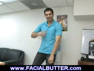 Dude on 1st time homosexual audition