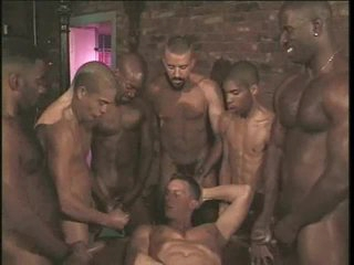 Homo anal group sex with hard body hotties