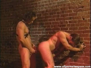 Manly fellows fuck anally in the alley