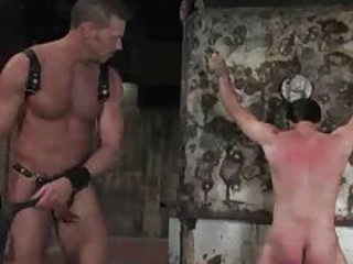 Homo boy in servitude is whipped and beaten