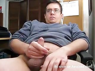 take a look at my boyfriend rubbing his pecker like a lustful boy. This chab does a great job and appears to be that this chab has some experience with that. This chab proceeds to masturbate and cums. Is this chab happy now or this chab needs to do it another time but this time with a finger in his asshole?
