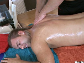 Hardcore anal penetration right after massage, have a fun that clip